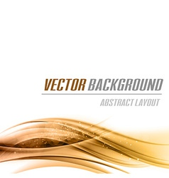 Background orange bottom vector