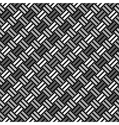Design seamless monochrome pointed pattern vector