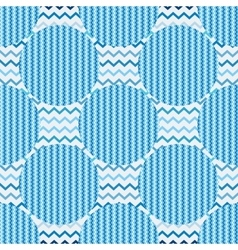 Seamless pattern abstract circles vector
