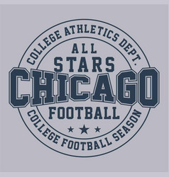 All star chicago vector