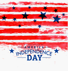 American independence day background with grunge vector