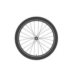 Bike wheel icon vector