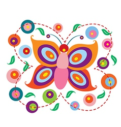Lovely Butterfly vector image