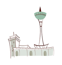 Icon tower vector
