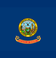 Idaho state flag vector
