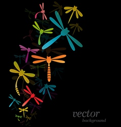 Dragonfly design vector