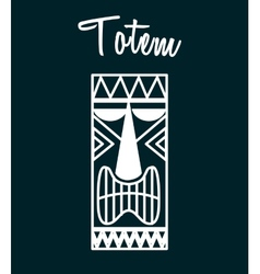 Hawaii totem vector