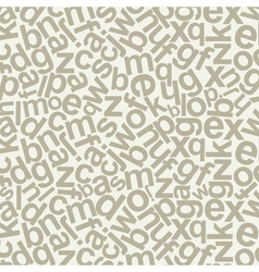 Alphabetic background vector image vector image