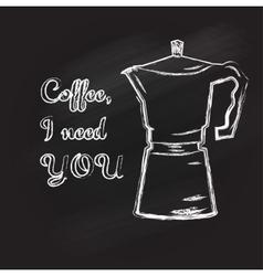 COFFEETIME vector image vector image