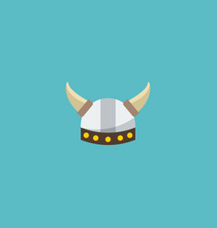 Flat icon barbarian element vector