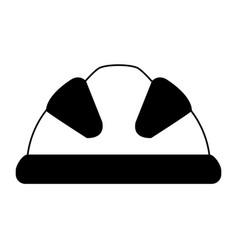 Industrial helmet icon image vector
