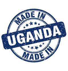 Made in uganda vector