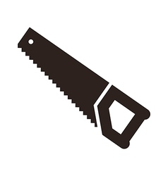 Saw tool icon vector image vector image
