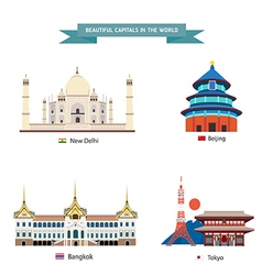Wold capital city 03 vector