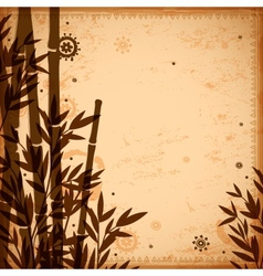 Bamboo vintage for your business vector