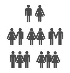 Gender symbol 2 vector