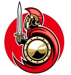 roman army vector image