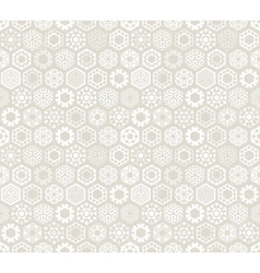 Wallpaper with stylized snowflakes vector