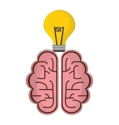 Brain idea creative solution concept vector