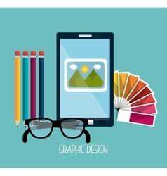 Creative process graphic design theme vector