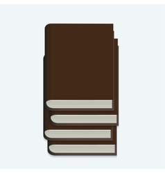 modern book on white background vector image