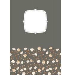 Invitation gray background vector