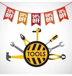 Great tools for sale vector