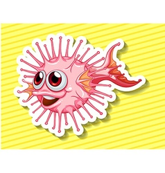 Fancy fish vector image vector image