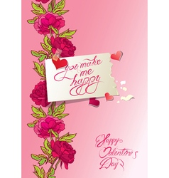 Flower card 1 380 vector