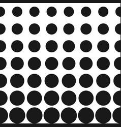 half tone circles pattern halftone dots vector image vector image