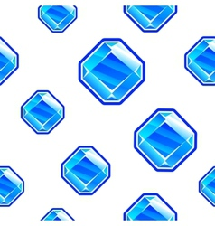 Square diamond background vector