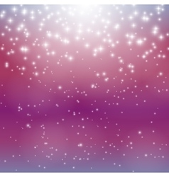 Star Sky Background vector image