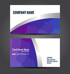 Simple business template vector