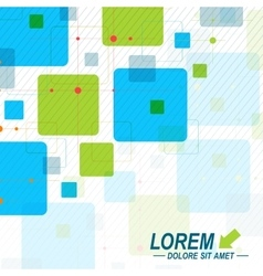 background of the colorful hexagons Modern vector image