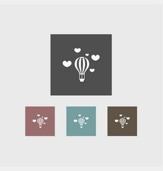 Balloon icon simple vector