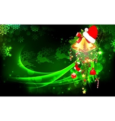 Colorful Christmas vector image vector image