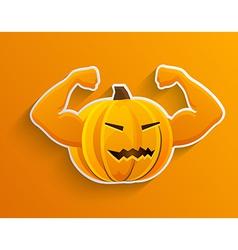 concept halloween background Eps10 vector image