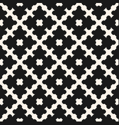 geometric ornament abstract seamless pattern vector image vector image