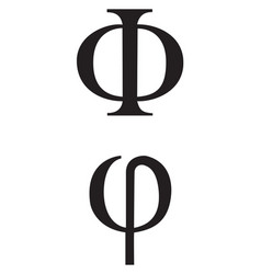 Greek signs and symbols vector