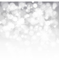 Lights on silver background vector image