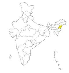 Nagaland vector