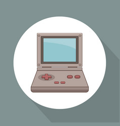 videogame portable technology vector image vector image