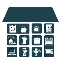 Smart house vector