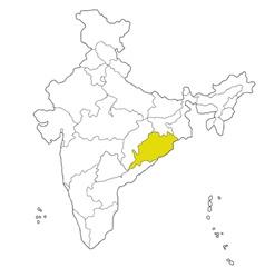 Orissa vector