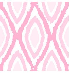 pink monochrome rhombus seamless pattern vector image