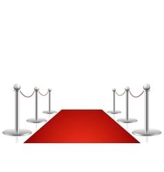 Red carpet Awards show vector image vector image