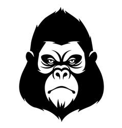 Symbol monkey vector
