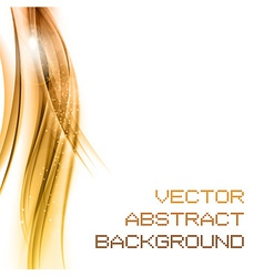 background orange left vector image vector image