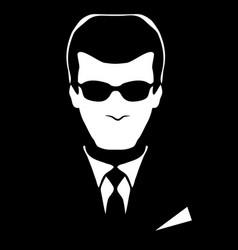 Concept business male businessman vector