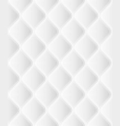 soft seamless rattern with waves in white eps 10 vector image vector image